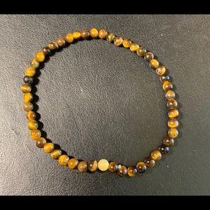 Handmade Tiger's Eye Mindfulness Gems 🌈 Bracelet.